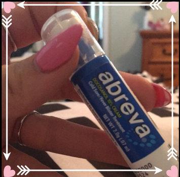 Abreva Docosanol 10% Cream Cold Sore Treatment uploaded by Cortney D.