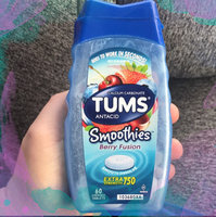 Tums Smoothies Extra Strength 750 Berry Fusion Antacid/Calcium Supplement Chewable Tablets - 60 CT uploaded by Sara-Catherine F.