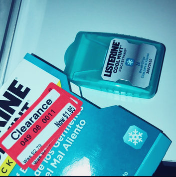 Photo of LISTERINE® POCKETPAKS® uploaded by Gabrielle H.