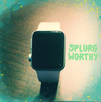 Apple Watch Series 2 Silver Aluminum Case with White Sport Band uploaded by Amber M.