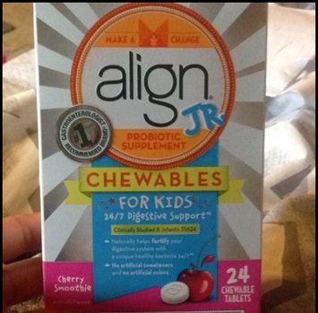 Photo of Bifantis Align Jr. Probiotic Supplement for Kids 24ct Cherry Chewables uploaded by Carol C.