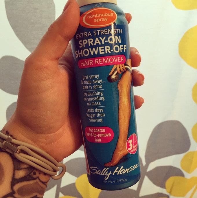 Sally Hansen Spray-On Shower-Off Hair Remover Sensitive Skin-6oz uploaded by Lauren Y.