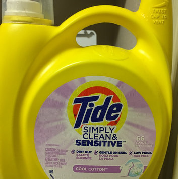 Photo of Tide Simply Free & Sensitive Liquid Laundry Detergent uploaded by Heather S.
