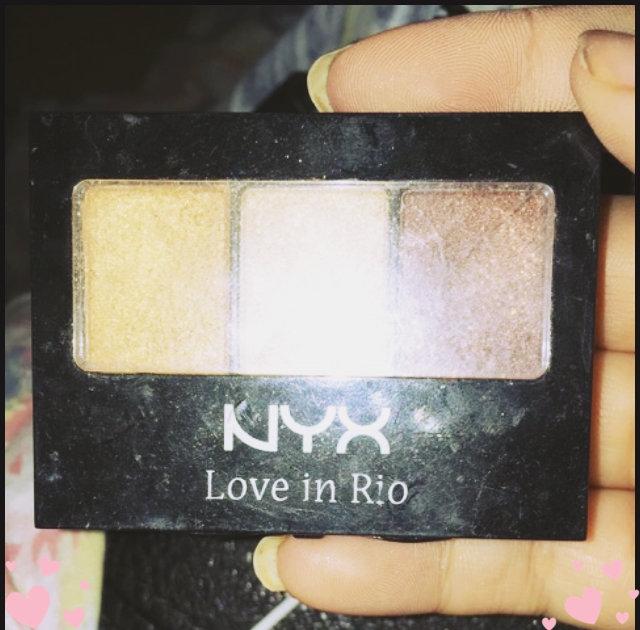 NYX Cosmetics Love In Rio Eyeshadow Palette uploaded by Kara W.
