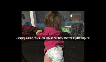 Huggies® Little Movers Slip-On Diaper Pants uploaded by Tawnia S.