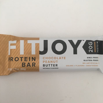 Photo of FitJoy FitJoy Protein Bar Chocolate Peanut Butter-12 Bars uploaded by Julia G.
