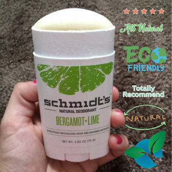 Schmidt's Bergamot + Lime Natural Deodorant uploaded by Briana J.