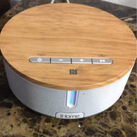 iHome NCF Stereo Speaker with USB charging - Brown/White (iBN26WC) uploaded by Cassandra S.