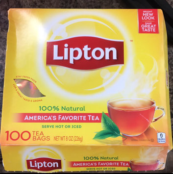 Lipton® Serve Hot or Iced Tea Bags uploaded by Tara S.