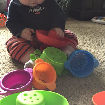Photo of Luv N' Care, Ltd. Nuby 5-Piece Stacking Bath Boats uploaded by Ginger H.
