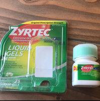 Zyrtec Antihistamine Liquid Gels uploaded by Valerie B.