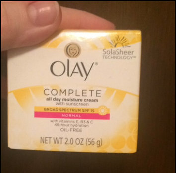 Olay Complete Cream All Day Moisturizer with SPF 15 for Sensitive Skin uploaded by Abby D.