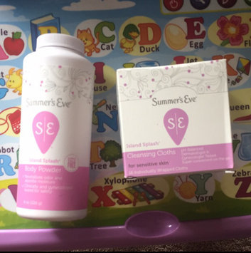 Photo of Summer's Eve Island Splash Cleansing Cloths for Sensitive Skin - 16 CT uploaded by Porsha G.