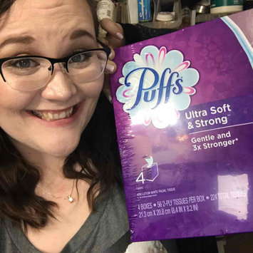 Photo of Puffs® Ultra Soft & Strong Facial Tissues uploaded by Paige M.