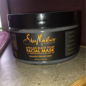 SheaMoisture African Black Soap Problem Skin Facial Mask uploaded by Tashiana A.