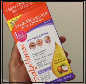 Photo of Sally Hansen® Hair Remover Wax Strip Kit for Face uploaded by Symone S.