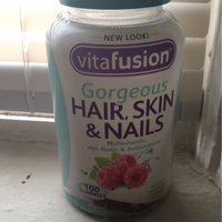 Vitafusion™ Gorgeous Hair, Skin & Nails Multivitamin Raspberry Gummies uploaded by Aisha B.