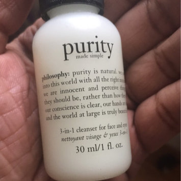philosophy purity made simple one-step facial cleanser uploaded by Aisha B.