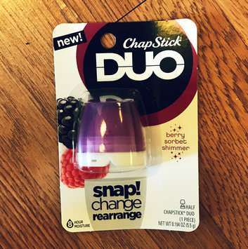 ChapStick® DUO Berry Shimmer uploaded by Emily L.
