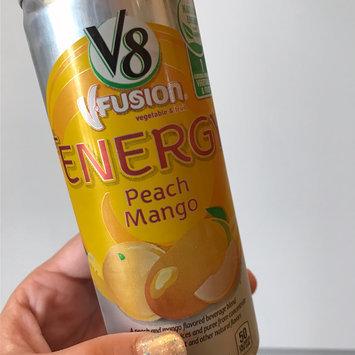 Photo of V8® V-Fusion + Energy Peach Mango Flavored Vegetable & Fruit Juice uploaded by Stephanie N.