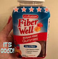 Vitafusion Fiber Well Gummies Prebiotic Fiber Supplement uploaded by Ana M.