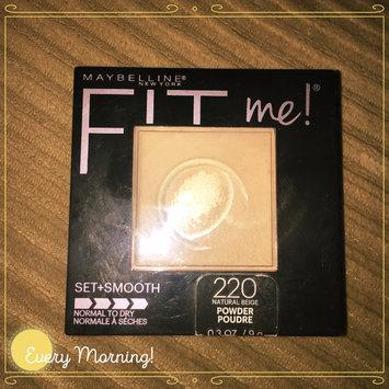 Maybelline Fit Me! Set + Smooth Pressed Powder uploaded by Annie B.