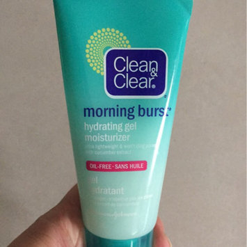 Photo of Clean & Clear® Morning Burst® Hydrating Gel Moisturizer uploaded by Cari M.