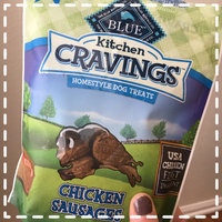 THE BLUE BUFFALO CO. BLUE™ Kitchen Cravings™ Chicken Sausages Homestyle Dog Treats uploaded by Amy R.
