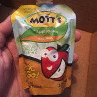 Mott's Applesauce Pouches uploaded by Estefany A.