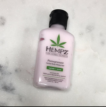 Hempz Hydrosilk Herbal Moisturizer uploaded by Kristin A.