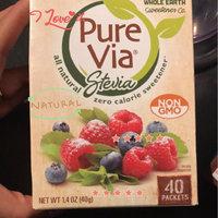 Pure Via Stevia Zero Calorie Sweetener - 40 CT uploaded by Sophia A.
