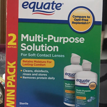 Photo of Equate - Multi-Purpose Contact Lenses Solution uploaded by Taylor E.