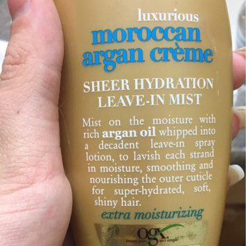 OGX Sheer Hydration Leave-In Mist Luxurious Moroccan Argan Creme uploaded by Sophia B.