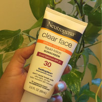 Neutrogena® Clear Face Break-Out Free Liquid Lotion Sunscreen Broad Spectrum SPF 30 uploaded by Leslie J.