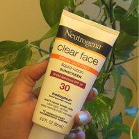 Neutrogena® Clear Face Break-Out Free Liquid Lotion Sunscreen Broad Spectrum SPF 30 uploaded by Leslie J.