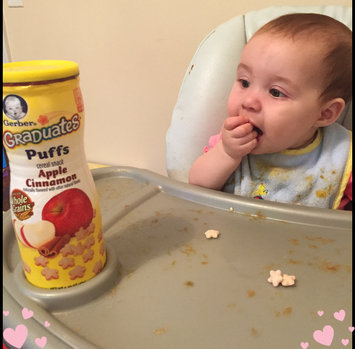 Photo of Gerber® Puffs Peach uploaded by Sam C.