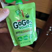 GoGo SQUEEZ APPLE CINNAMON APPLESAUCE ON THE GO uploaded by Amanda L.