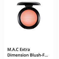 M.A.C Extra Dimension Blush-FAIRLY PRECIOUS-One Size uploaded by Sabrina R.