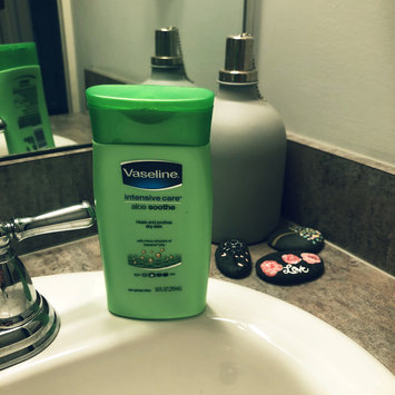 Photo of Vaseline® Intensive Care™ Aloe Soothe Lotion uploaded by Marcie M.