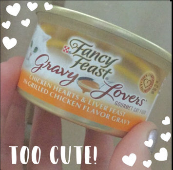 Photo of Purina Fancy Feast Chicken Hearts & Liver Feast in Gravy Sliced Gourmet Cat Food uploaded by Emily J.