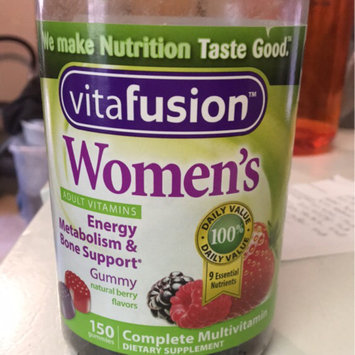 MISC BRANDS Vitafusion Women's Gummy Vitamins Complete MultiVitamin Formula uploaded by Ashley N.