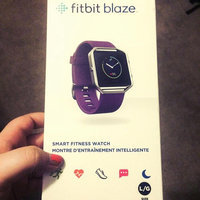 Fitbit - Blaze Smart Fitness Watch (large) - Plum uploaded by Erika E.