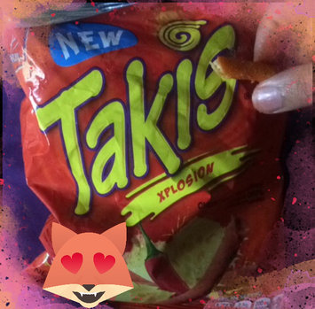 BARCEL TAKIS XPLOSION VERY HOT CHEESE AND CHILLI PEPPER TORTILLA CHIPS 4 oz Each ( 16 in a Pack ) uploaded by Lakiya N.