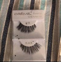 6 Pairs Crème 100% Human Hair Natural False Eyelash Extensions Black #415 Natural Long Lashes uploaded by Yareli L.