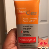 Neutrogena® Rapid Clear Acne Defense Face Lotion uploaded by Myleka M.