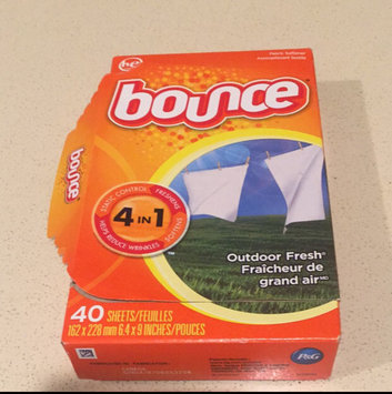 Photo of Bounce Outdoor Fresh 4in1 Fabric Softener Sheets - 40 CT uploaded by Cynthia C.
