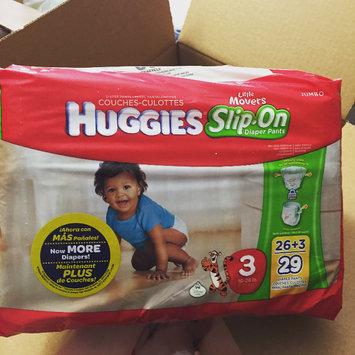 Huggies® Little Movers Slip-On Diaper Pants uploaded by Elizabeth B.