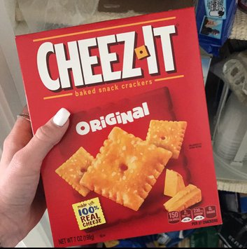 Cheez-It® Original Baked Snack Crackers uploaded by Ashley P.