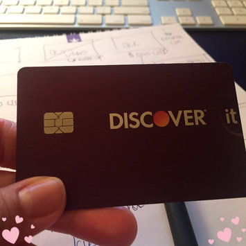 Discover it Cashback Match Credit Card uploaded by Maria S.