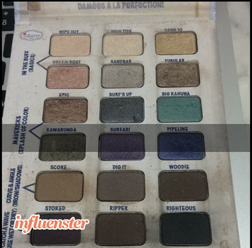 Photo of Thebalm the Balm Balmsai Eyeshadow & Brow Palette With Shaping Stencils uploaded by Zuleica N.